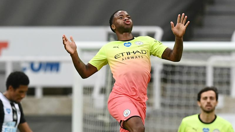 Newcastle United 0-2 Manchester City: De Bruyne and Sterling set up Arsenal semi-final