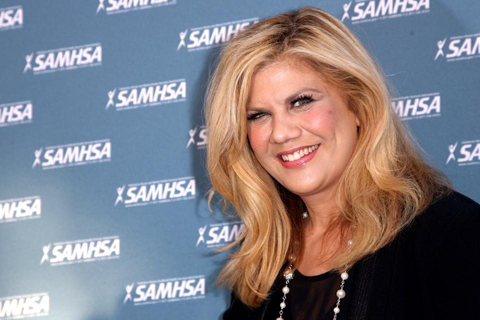 WESTWOOD, CA - AUGUST 13:  Actress Kristen Johnston attends the SAMHSA's 2014 Voice Awards held at the Royce Hall, UCLA on August 13, 2014 in Westwood, California.  (Photo by Tommaso Boddi/WireImage)