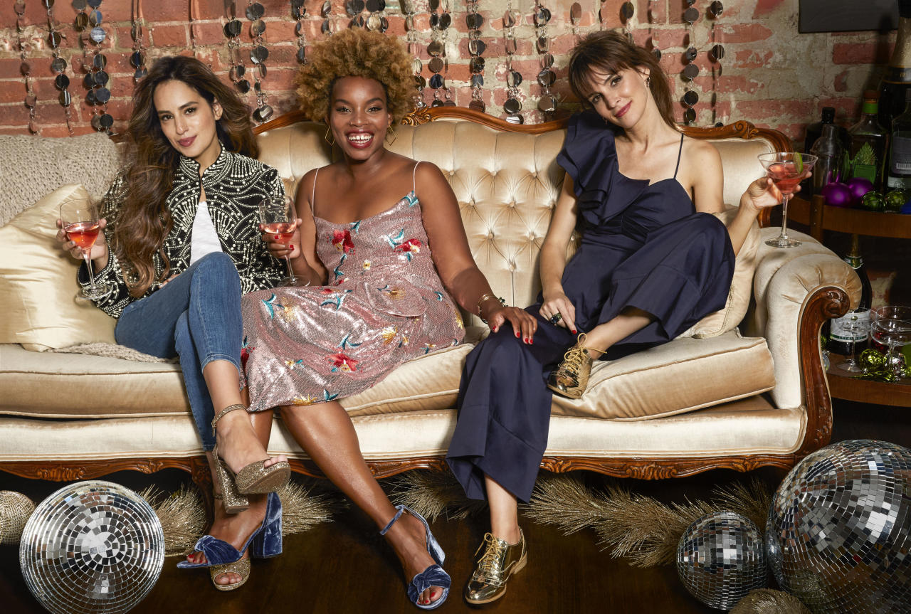 <p>Because spending time with loved ones is what the holidays are all about, we asked three real-life friends to model looks that work for every shape, style, and get-together - whether it involves holding a toddler or a cocktail.</p>