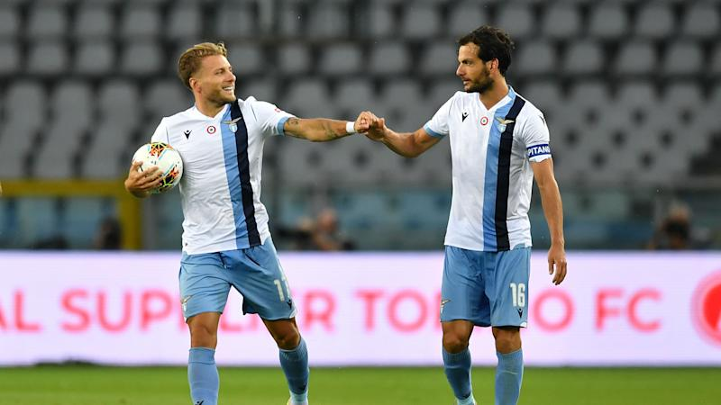 Immobile equals Lazio goalscoring record to keep the pressure on Juventus