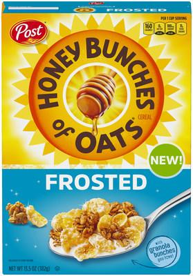 Honey Bunches of Oats Frosted