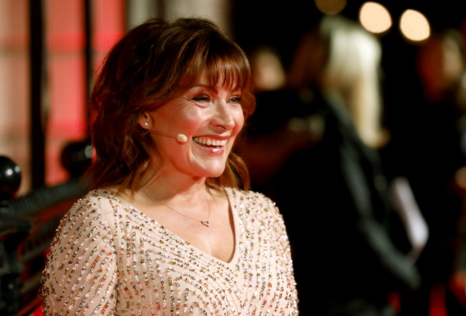 Lorraine Kelly attending The Sun Military Awards 2020 held at the Banqueting House, London. (Photo by David Parry/PA Images via Getty Images)