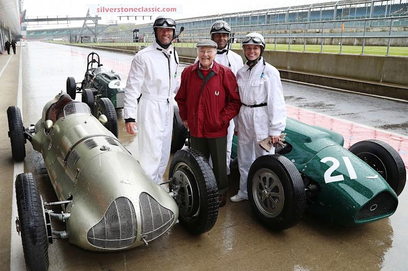 Channel 4 F1 TV pundits sample cars from first Silverstone GP