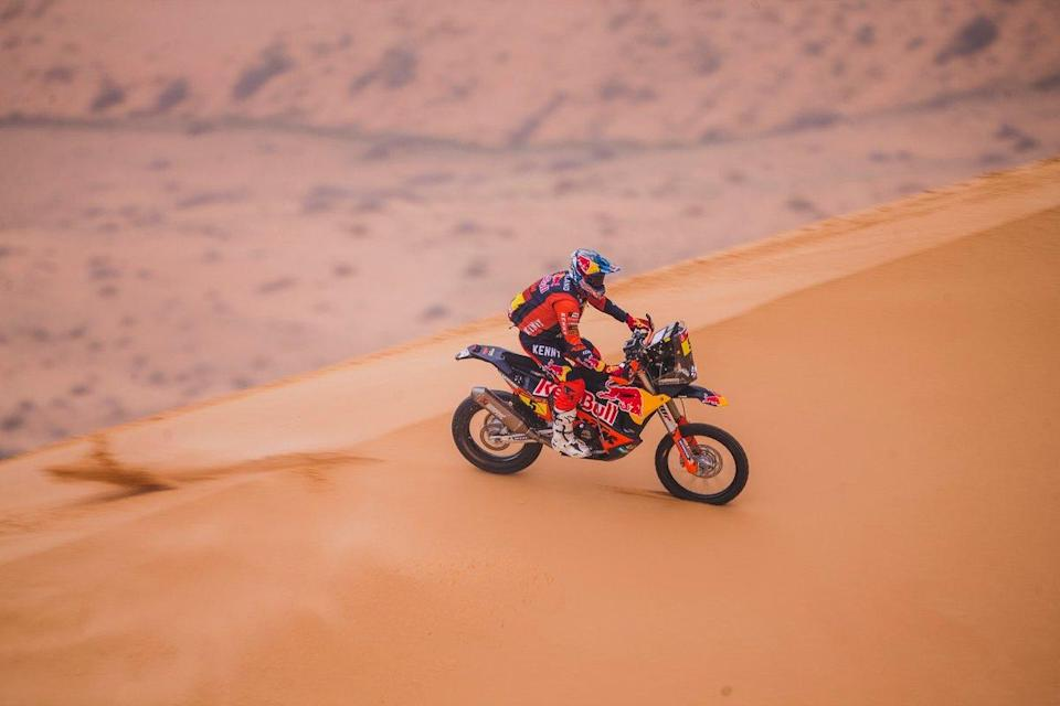 "#5 Red Bull KTM Factory Racing: Sam Sunderland<span class=""copyright"">Red Bull Content Pool</span>"