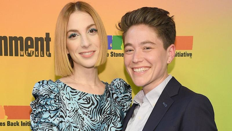 'Younger' Star Molly Bernard Announces Engagement to Girlfriend Hannah Lieberman: 'We Said Yes!'
