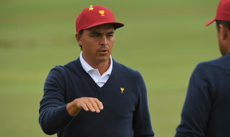 Presidents Cup 2019: Here's why players are wearing yellow pins on their hats at Royal Melbourne