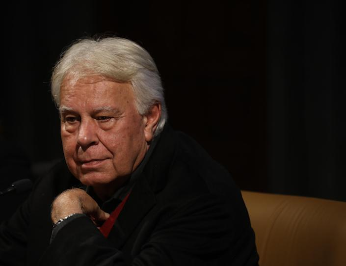 Felipe González. (Photo by María José López/Europa Press via Getty Images)