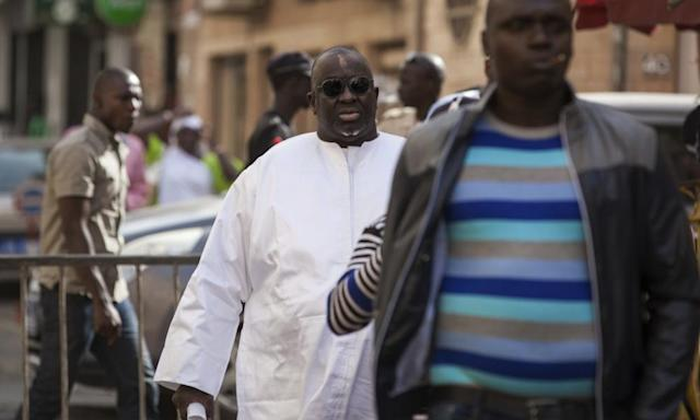 "<span class=""element-image__caption"">Papa Massata Diack, centre, is reported to have sent an email trying to 'lock' African votes for the 2020 Olympics.</span> <span class=""element-image__credit"">Photograph: Vincent Tremeau/AP</span>"