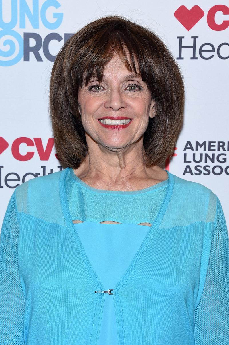 Valerie Harper steps out in New York City for the American Lung Association's LUNG FORCE on May 12, 2015 in New York City.
