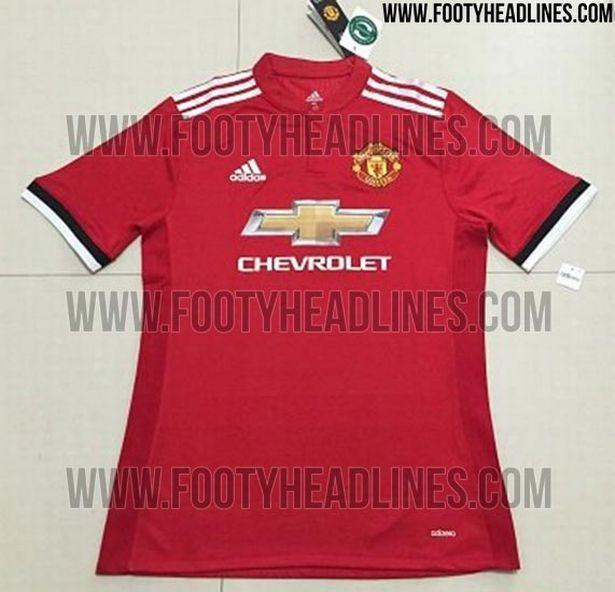 <p>Could Jose Mourinho's Manchester United launch a title charge with this slightly-tweaked home kit? </p>