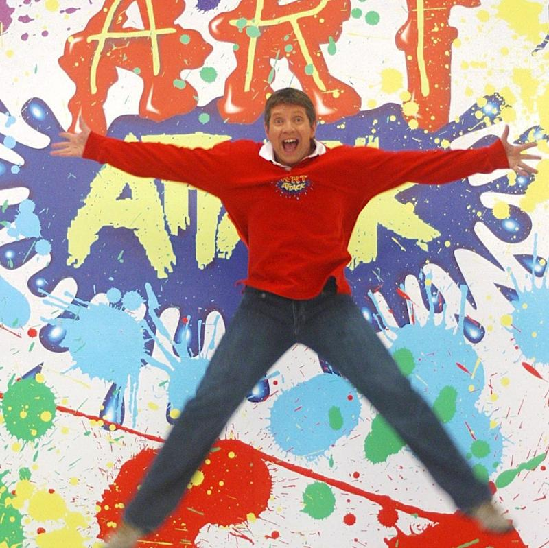 Buchanan's enthusiasm sustained Art Attack for almost two decades - Shutterstock