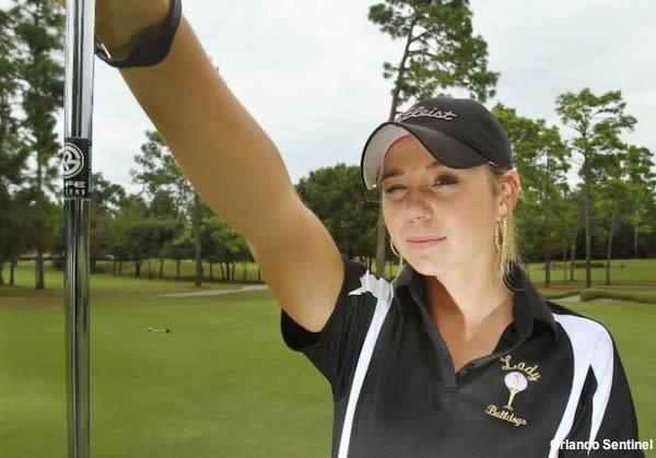 DeLand golfer Carrianne Wright