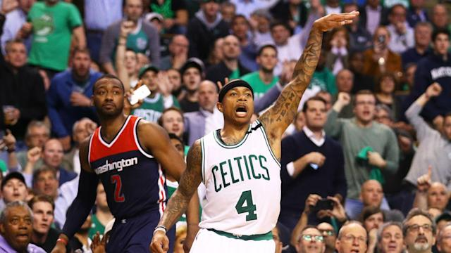 As good as Isaiah Thomas was, he climbed over the 50-point plateau in part because the Wizards offered no solutions in guarding him.