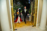 """<p>Surprise! <a href=""""https://people.com/movies/inside-nicolas-cage-and-riko-shibatas-las-vegas-wedding-we-are-very-happy/"""" rel=""""nofollow noopener"""" target=""""_blank"""" data-ylk=""""slk:In early March"""" class=""""link rapid-noclick-resp"""">In early March</a>, the actor told PEOPLE he wed Riko Shibata the month prior in a """"very small and intimate wedding"""" at the Wynn Hotel in Las Vegas.</p> <p>""""It's true, and we are very happy,"""" Cage said in a statement to PEOPLE.</p> <p>""""The date [Feb. 16] was chosen to honor the birthday of the groom's late father,"""" Cage's rep told PEOPLE. """"The bride wore a handmade Japanese Bridal Kimono from Kyoto that required three layers.""""</p>"""