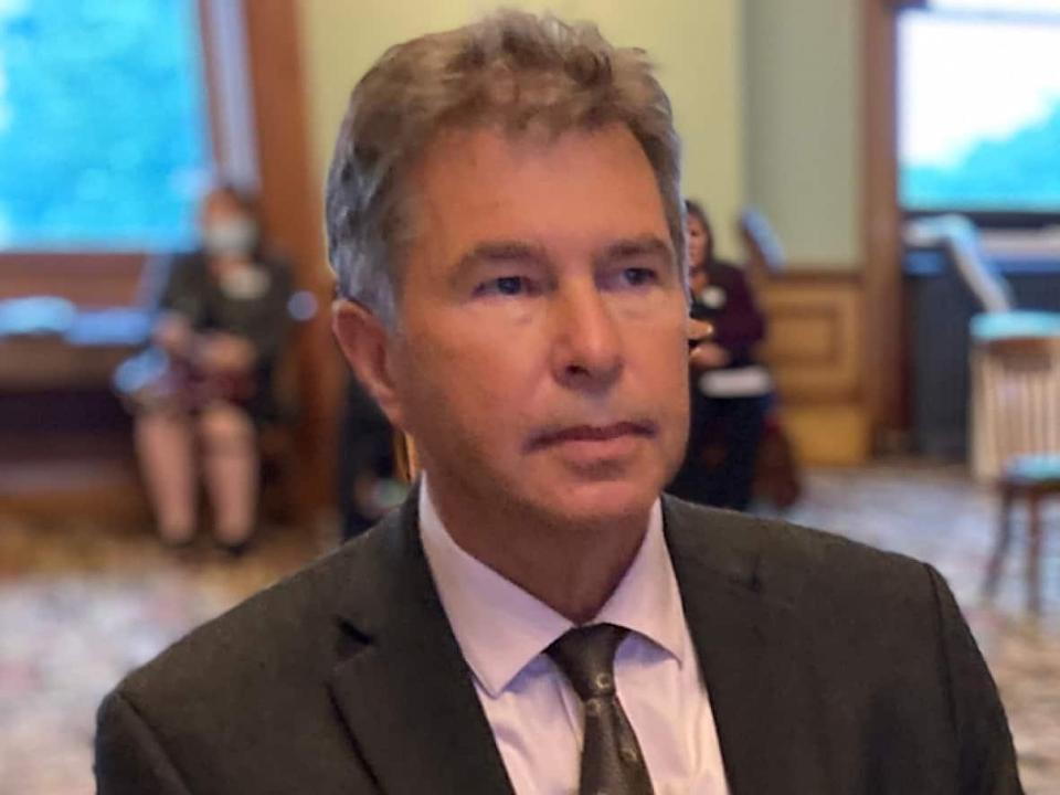 Horizon's priority remains ensuring essential, urgent and emergency services are maintained for its patients and clients while keeping its staff, physicians and communities safe, said interim president and CEO Dr. John Dornan. (Jacques Poitras/CBC - image credit)