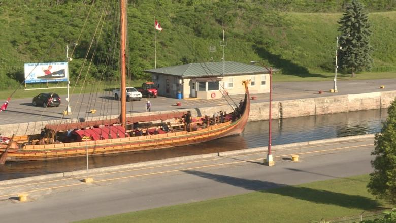 Norwegian replica of Viking ship arrives in eastern Ontario