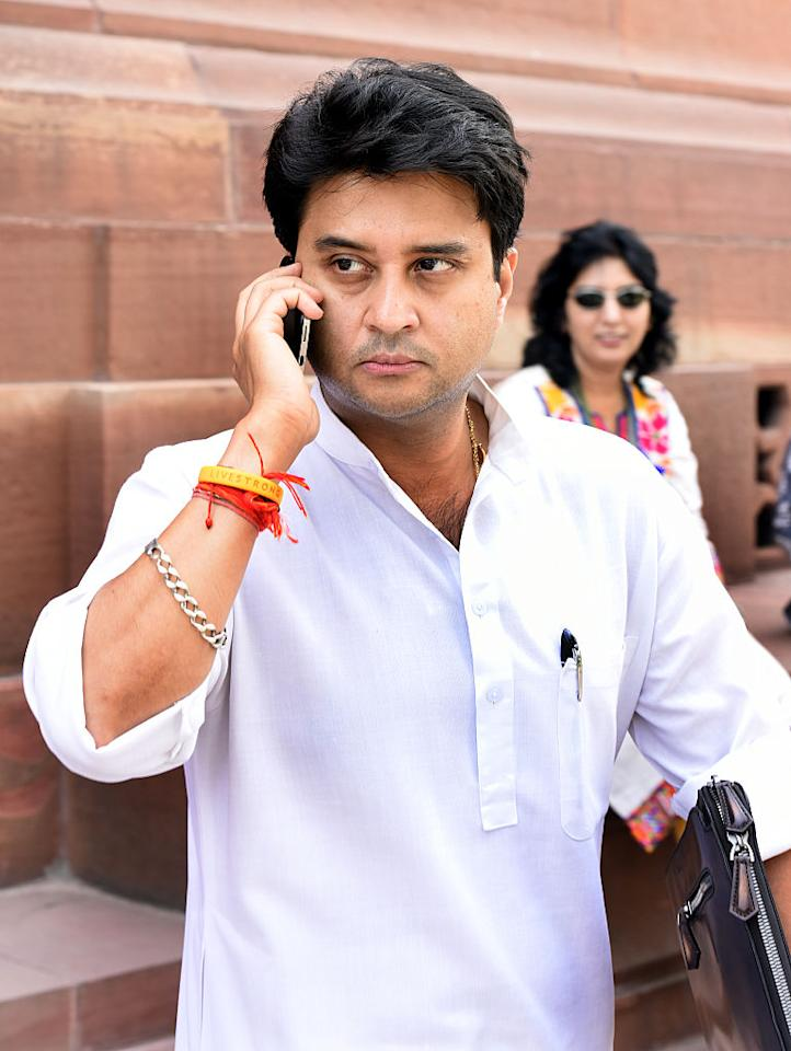 <p>Born January 1, 1971 (age 47)<br />Jyotiraditya Scindia is a member of the Scindia Maratha clan that ruled Gwalior in the 17th and 18th centuries. His grandfather Jivaji Rao Scindia was the last ruling Maharaja of Gwalior. Jyotiraditya was handed down the King's turban in 2001 after his father died in a plane crash. He is married to Priyadarshini Raje Scindia of the Gaekwad family of Baroda. </p>