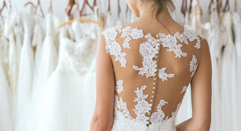 These are the best wedding dresses available in 2020. [Photo: Getty]