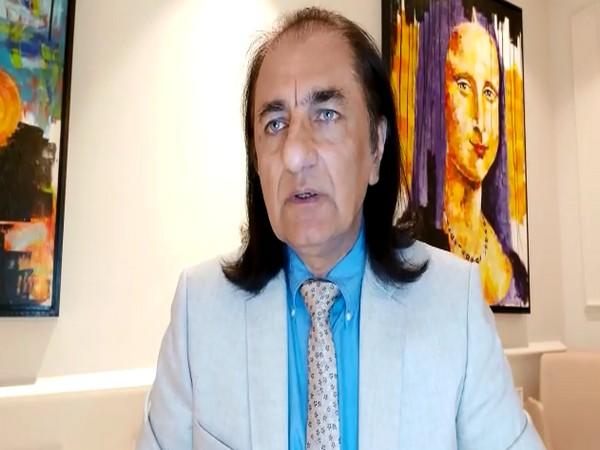 Dr Amjad Mirza, a political activist from Pakistan occupied Kashmir