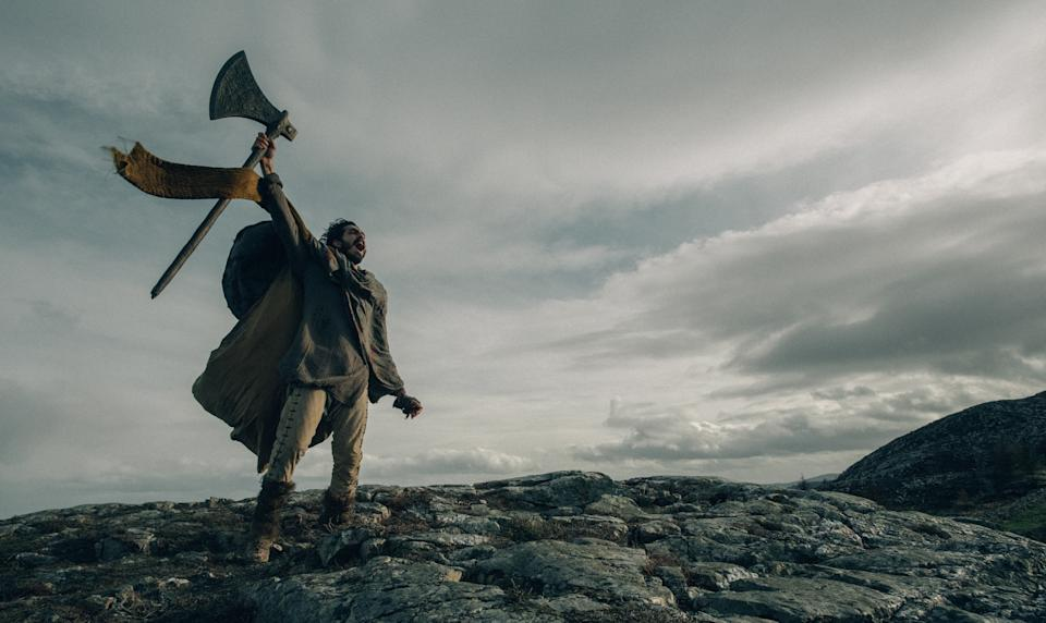 David Lowery's The Green Knight will launch on Amazon Prime Video on 24 September (Amazon/A24)