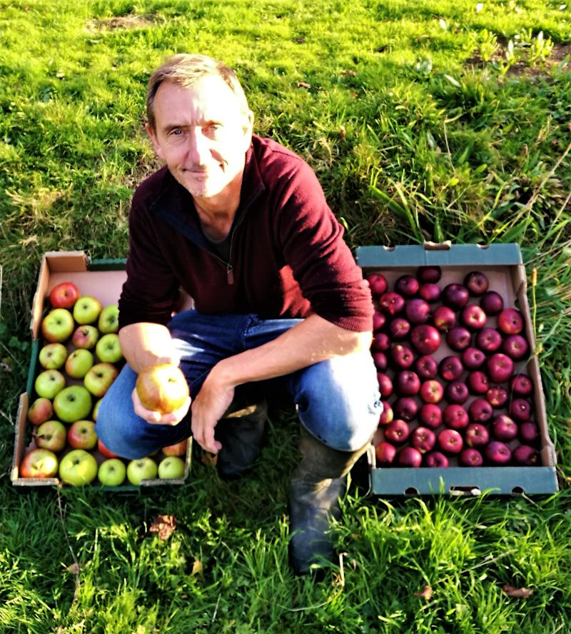 Dave Goulson is pushing for an allotment boom. Photo: Dave Goulson / handout