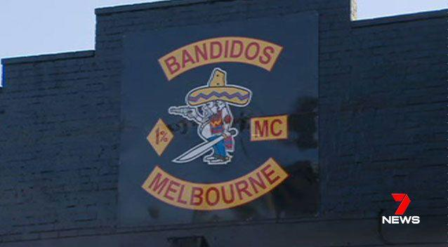 Two Bandidos outlaw motorcycle club members were shot in the chest, during a drive-by attack. Picture: 7 News