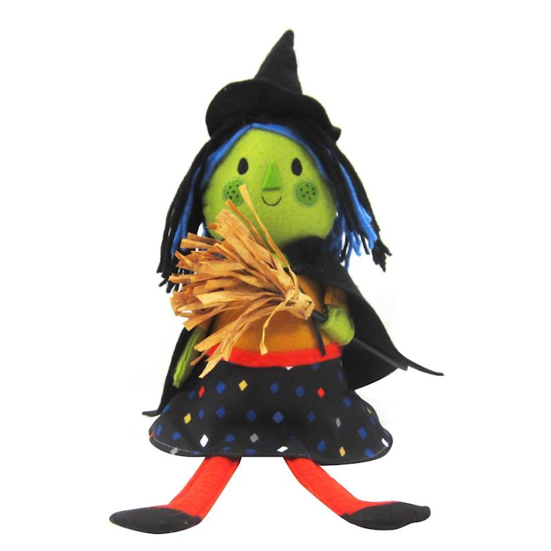 """Get it here from <a href=""""https://www.target.com/p/halloween-witch-figure-hyde-and-eek-boutique-153/-/A-52293786#lnk=newtab"""" target=""""_blank"""">Target</a>, $6."""