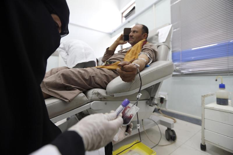 More than 8,300 people have died in the Yemen conflict, with another 47,700 injured and millions displaced, according to the World Health Organization (AFP Photo/Mohammed HUWAIS)