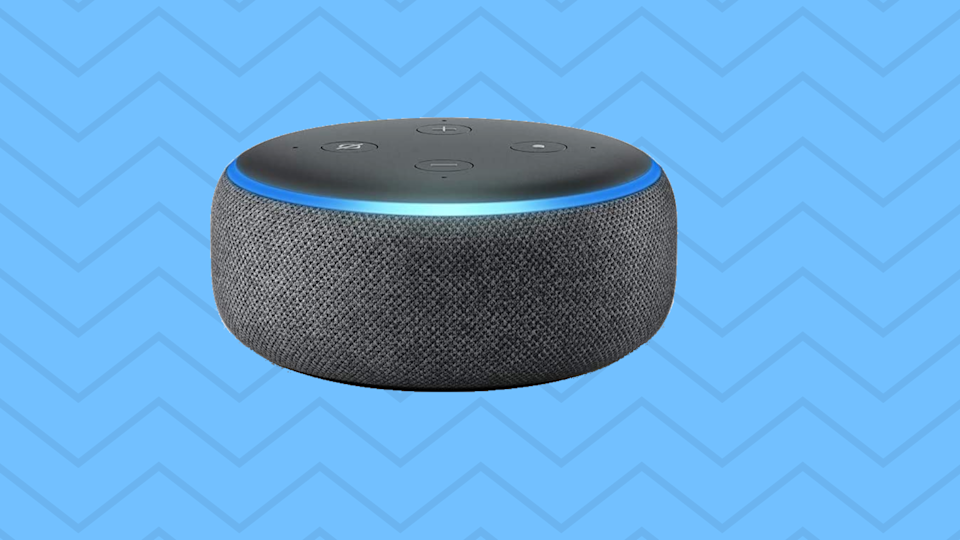 The third generation Echo Dot is still one of Amazon's bestselling smart home device! (Photo: Amazon)