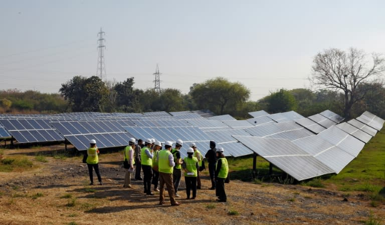 Since 2010, India's solar capacity has increased nearly five-fold from 20 to 96 gigawatts