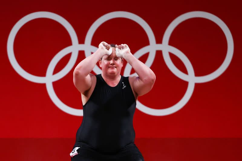 Weightlifting - Women's +87kg - Group A