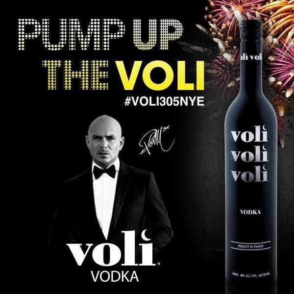 <p>Rapper Armando Christian Pérez aka Pitbull aka Mr. Worldwide owns a majority equity stake in Voli 305 Vodka and is also the brand's global spokesperson. The vodka, made and distilled in Miami using Florida corn, previously came in a 'lite' version with fewer calories endorsed by Fergie, formerly of The Black Eyed Peas. (Twitter) </p>