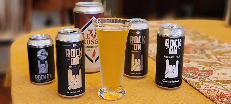 More than two dozen breweries across the U.S. have made a Rock On beer, with Crosby Hops donating any profits from the sale of hops used going to the Sweet Relief COVID-19 fund.