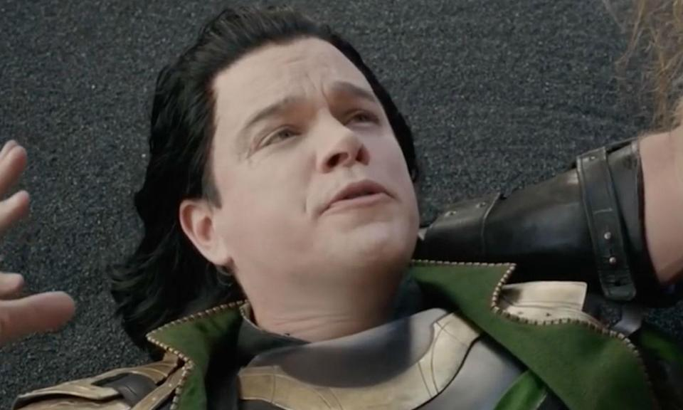 <p>Damon appeared in <em>Thor: Ragnarok</em> as an Asgardian actor playing the role of Loki in a play written by Loki, while he was pretending to be Odin. </p>