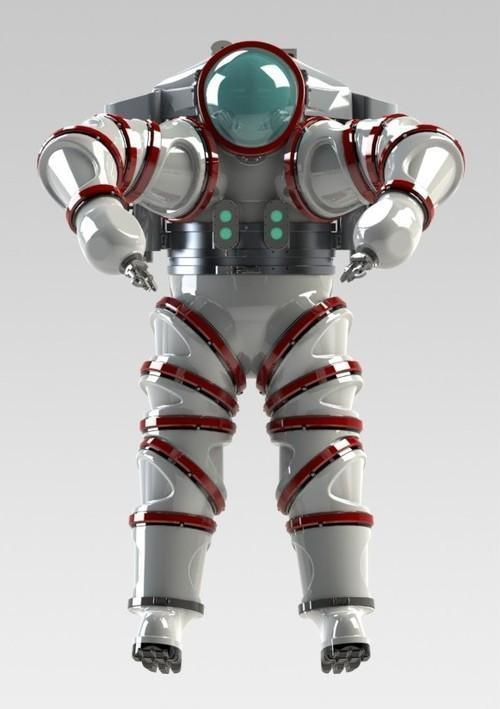 Exosuit diving system
