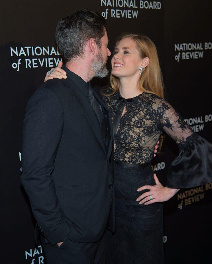 Amy Adams with her husband, Darren De Gallo. (Photo: Getty Images)