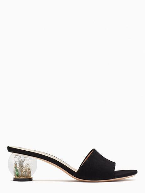 <p>They're going to fall in love with these unique <span>Kate Spade Polished Slide Sandals</span> ($198).</p>