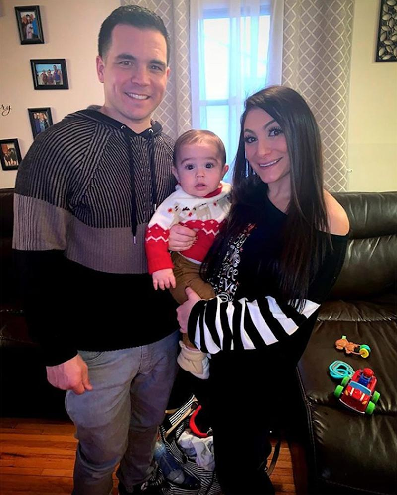 Deena Cortese Reveals Why Son CJ, 1, Can't Wear Shoes Yet: 'He Needs Braces on His Feet'