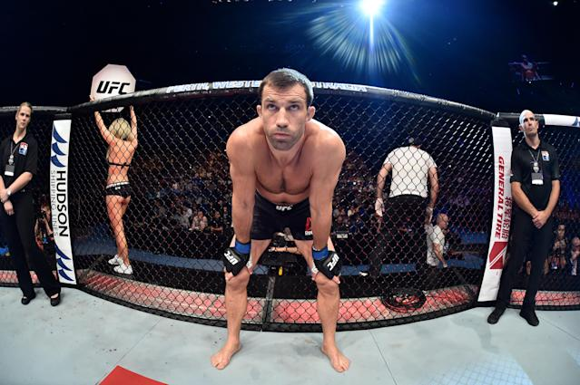 Former middleweight world champion Luke Rockhold moves up a class July 6, and is intent on grabbing gold once more. (Getty Images)