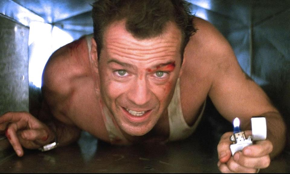 <p>Fox was contractually obligated to offer the role of John McClane in 'Die Hard' to Frank Sinatra. It's based on the book 'Nothing Lasts Forever', a sequel to a novel that had been adapted into 'The Detective' starring Sinatra. Ol' Blue Eyes turned it down because he was 73. </p>