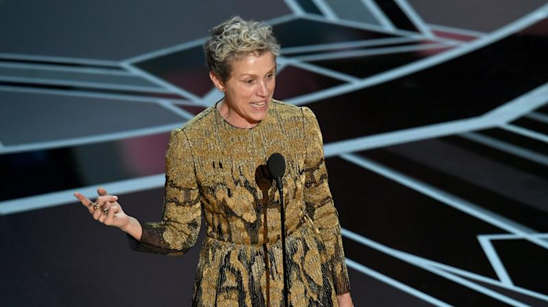 Frances McDormand's Empowering Oscars Speech