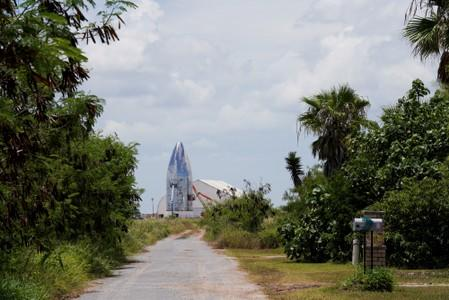 FILE PHOTO: SpaceX performs an untethered test of their company's Raptor engine in Boca Chica