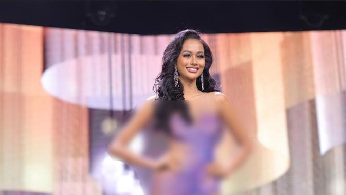 Aurra Kharisma di Miss Grand International 2020. (IST)