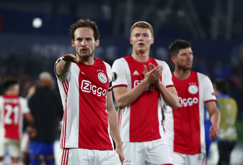 Ajax's Blind suffers scare as defibrillator stops during game