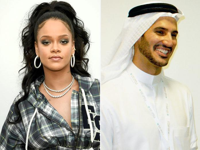 Rihanna Seen Hanging Out With A$AP Rocky Following Hassan Jameel Split