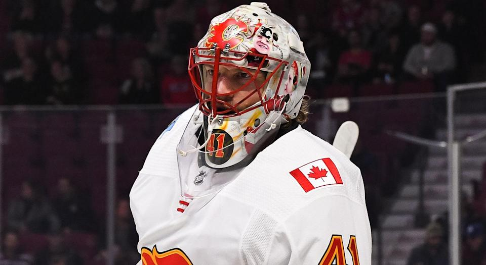Calgary has a Mike Smith problem. (Getty)