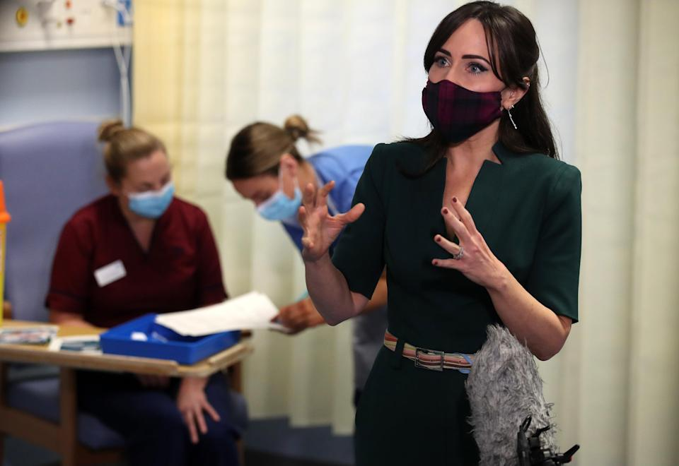 Dr Nicola Steedman welcomed the results (Andrew Milligan/PA) (PA Archive)