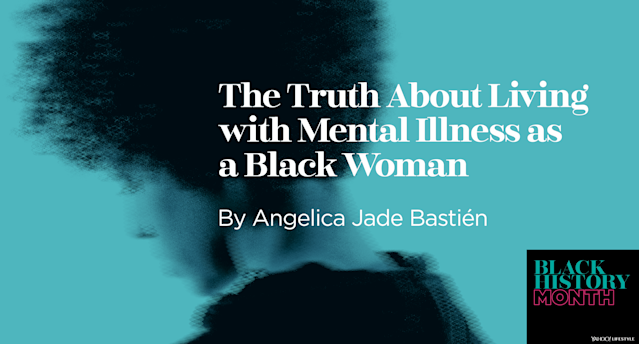 Angelica Jade Bastién tells the story of her mental illness. (Photo: Getty Images, design by Quinn Lemmers for Yahoo Lifestyle)
