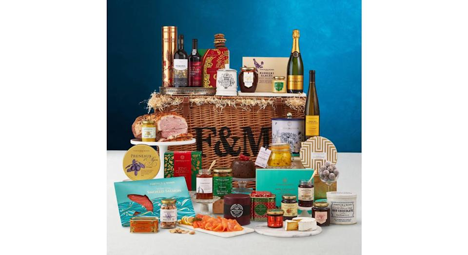 The Christmas Feast Hamper. (Fortnum & Mason)