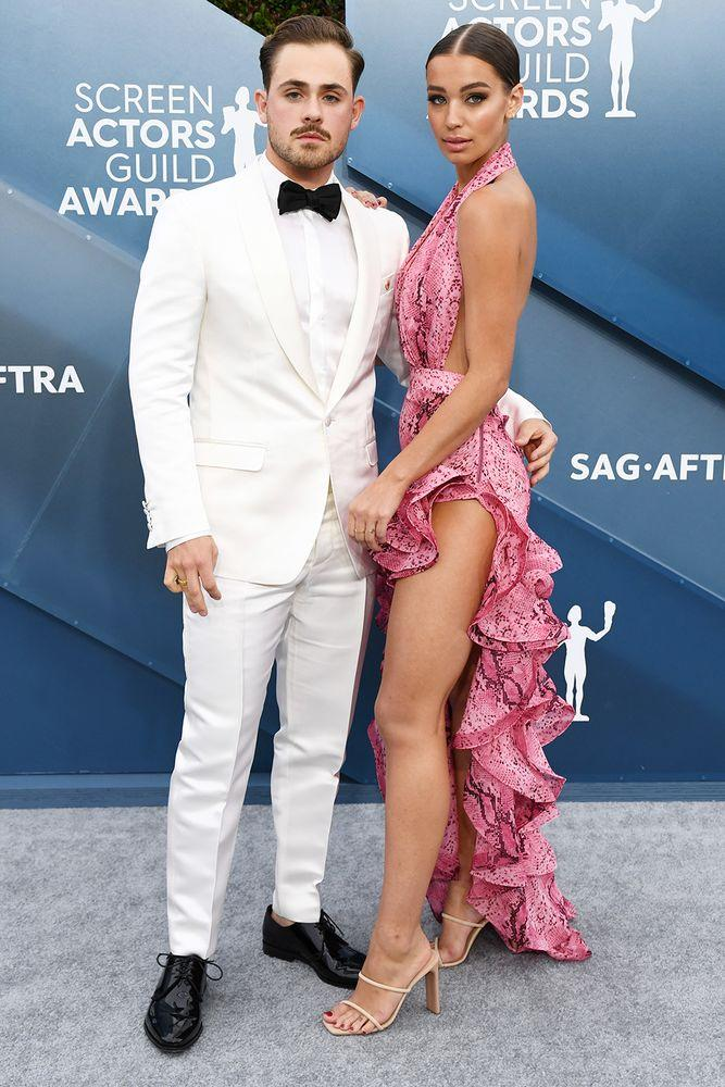 Dacre Montgomery and girlfriend Liv Pollock | David Fisher/Shutterstock